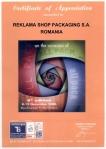Certificate of Apreciation ReklamaShop by ROM EXPO (1)