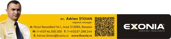Adrian STOIAN - manager regional Fabrica De Ambalaje Exonia