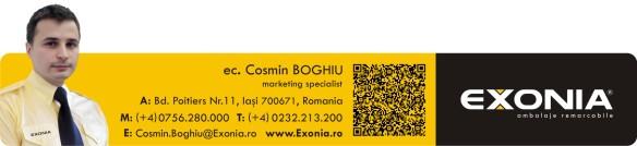 Cosmin BOGHIU - marketer Fabrica De Ambalaje Exonia