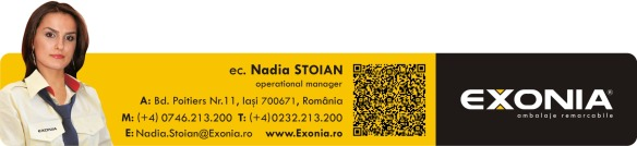 Nadia STOIAN - manager operational Fabrica De Ambalaje Exonia