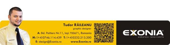 Semnatura electronica Tudor RAILEANU, Fabrica De Ambalaje Exonia Holding
