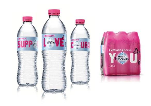 Etichete pentru sticle de apa