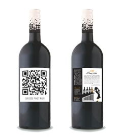 Eticheta adeziva pentru sticla de vin postata de Exonia Holding