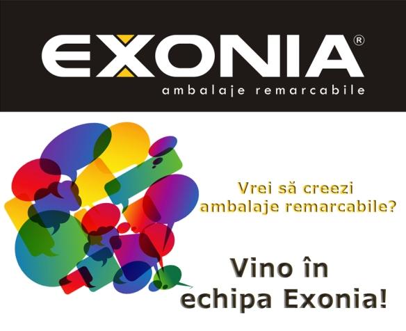 Vino in echipa Exonia