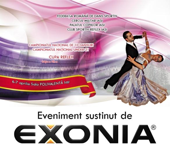 Exonia sustine Campionatul National de Dans Cupa Reflex Iasi 2013
