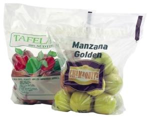Pungi si saci polietilena pentru mere de la Fabrica De Ambalaje Exonia