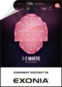 Fabrica De Ambalaje Exonia sustine Campionatul National De Dans Sportiv 2014