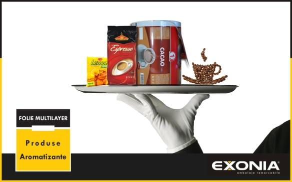 Folie multistrat ambalare produse aromatizante: cafea/ceai de la