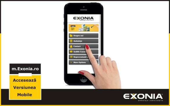 Fabrica De Ambalaje Exonia lanseaza m.Exonia.ro