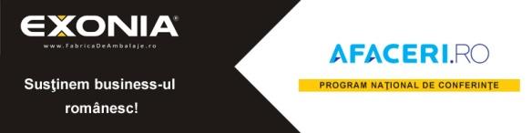 Fabrica De Ambalaje Exonia Holding sustine Programul National de Conferinte Afaceri