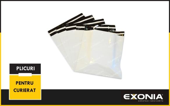 Plicuri pentru curierat din material coextrudat de la Fabrica De