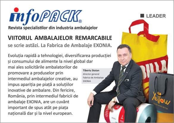 Articol Exonia in Infopack